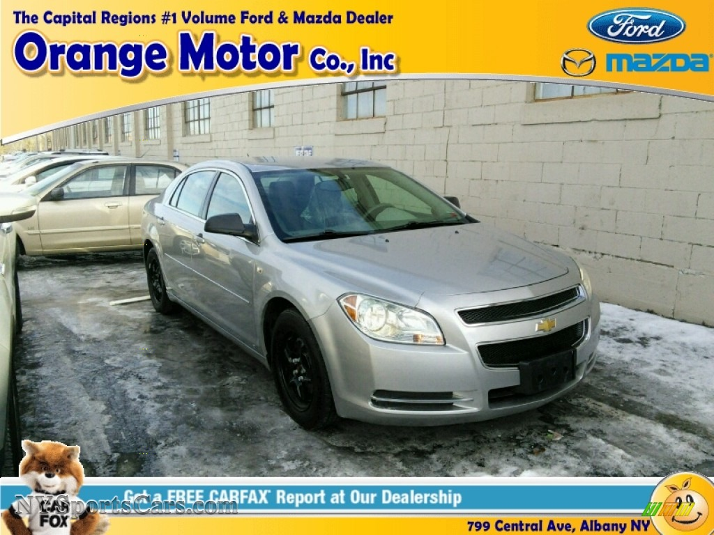 2008 chevrolet malibu ls sedan in silverstone metallic for Orange motors albany new york