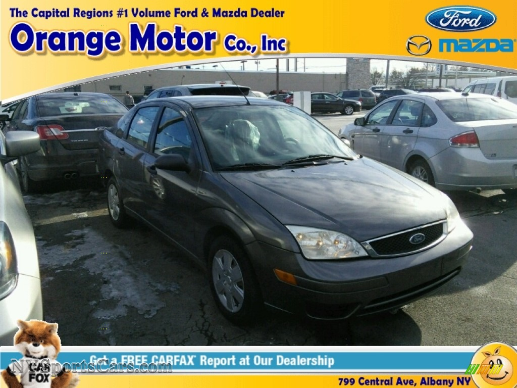 2006 ford focus zx4 ses sedan in liquid grey metallic for Orange motors albany new york