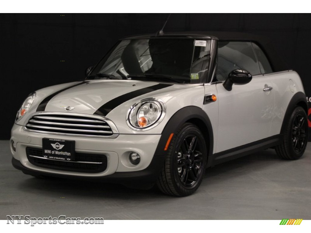 2015 mini convertible cooper in white silver metallic 861654 cars for. Black Bedroom Furniture Sets. Home Design Ideas