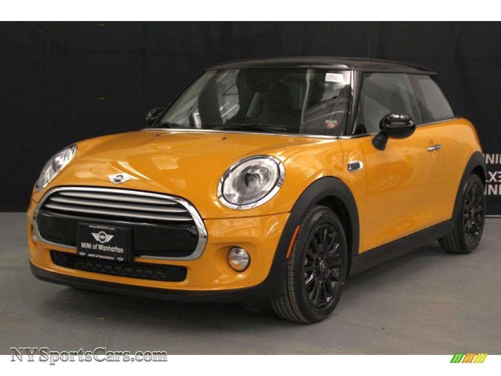 2015 Mini Cooper Hardtop 2 Door In Volcanic Orange
