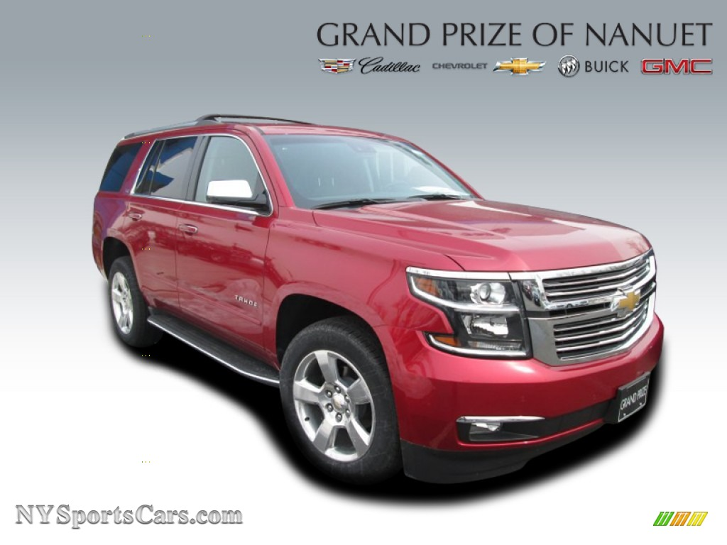 2015 chevrolet tahoe ltz 4wd in crystal red tintcoat. Cars Review. Best American Auto & Cars Review