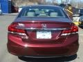 Honda Civic LX Sedan Crimson Red Pearl photo #5