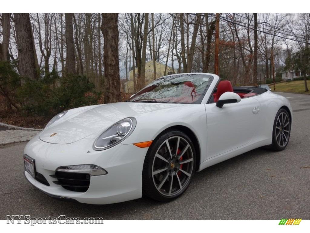 2013 porsche 911 carrera s cabriolet in white 155062 cars for sale in new. Black Bedroom Furniture Sets. Home Design Ideas