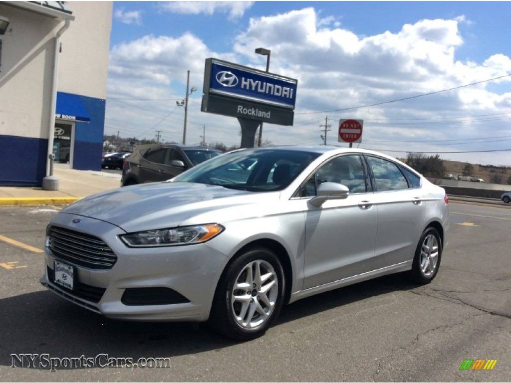 2014 Ford Fusion Se In Ingot Silver 377357