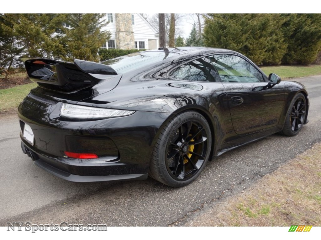 2015 911 gt3 black black walcantara photo 6 - Porsche 911 2015 Black