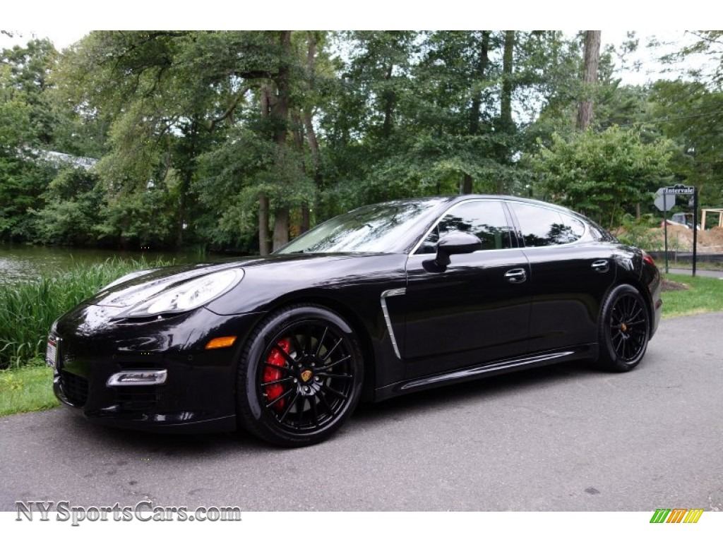 2012 porsche panamera turbo s in basalt black metallic. Black Bedroom Furniture Sets. Home Design Ideas
