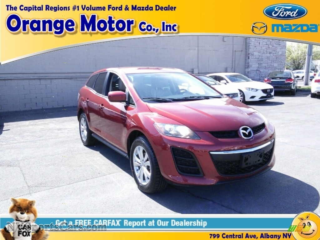 2010 Mazda Cx 7 S Touring Awd In Copper Red 334001