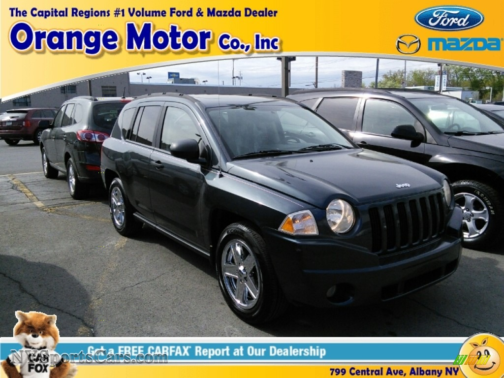 2007 jeep compass sport in steel blue metallic 410350 for Orange motors albany new york
