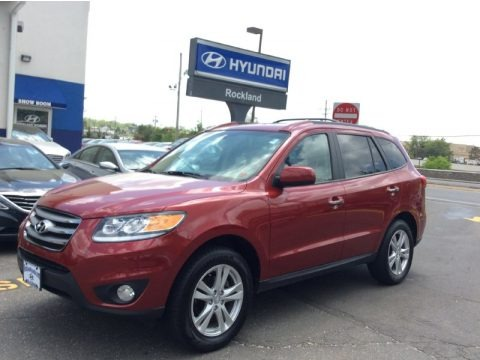 2010 Hyundai Santa Fe GLS 4WD in Black Forest Green ...