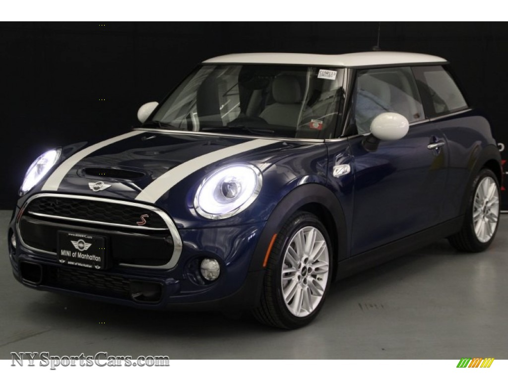 2015 Mini Cooper S Hardtop 2 Door In Deep Blue Metallic A35655 Nysportscars Com Cars For