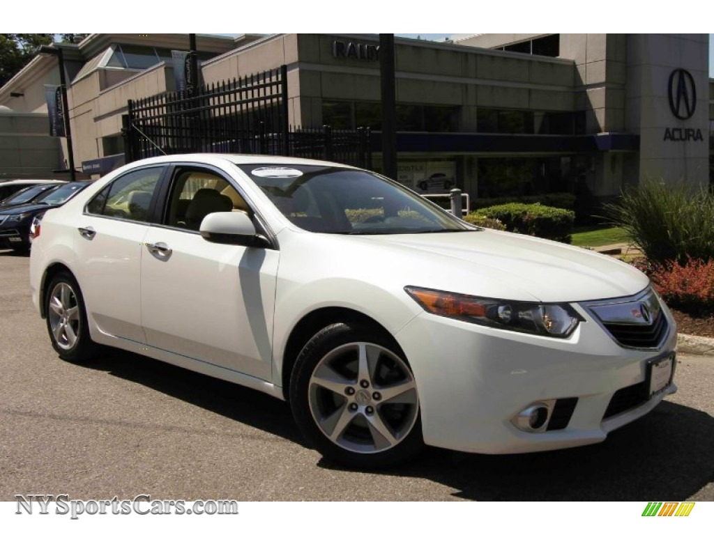 2012 acura tsx sedan in bellanova white pearl 020237. Black Bedroom Furniture Sets. Home Design Ideas