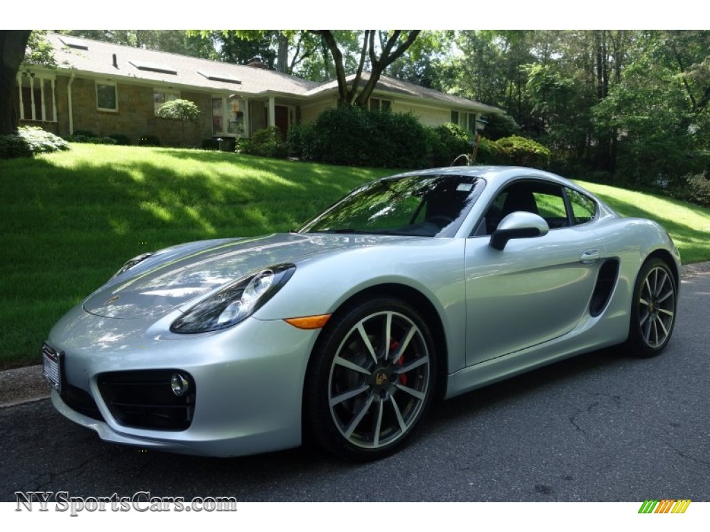 2014 porsche cayman s in rhodium silver metallic 193225 cars for sale in. Black Bedroom Furniture Sets. Home Design Ideas