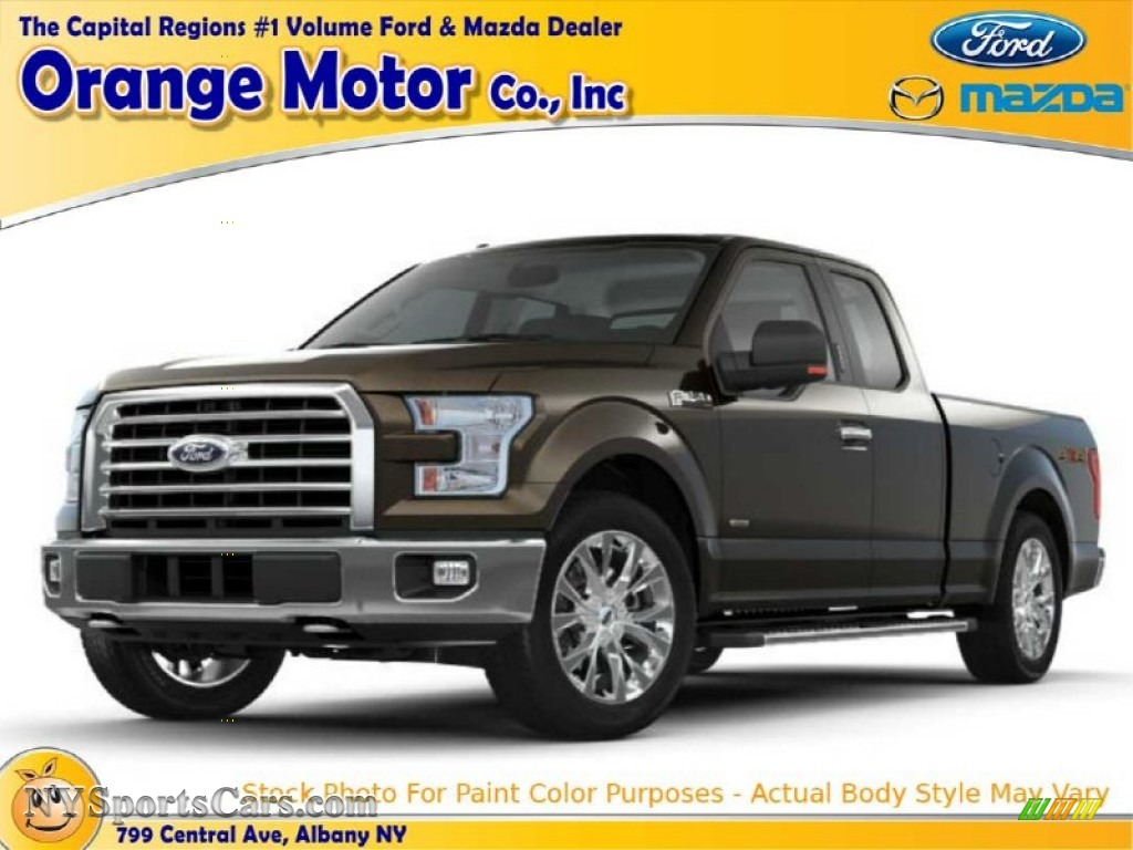 2015 ford f150 lariat supercrew 4x4 in caribou metallic for Orange motors albany new york