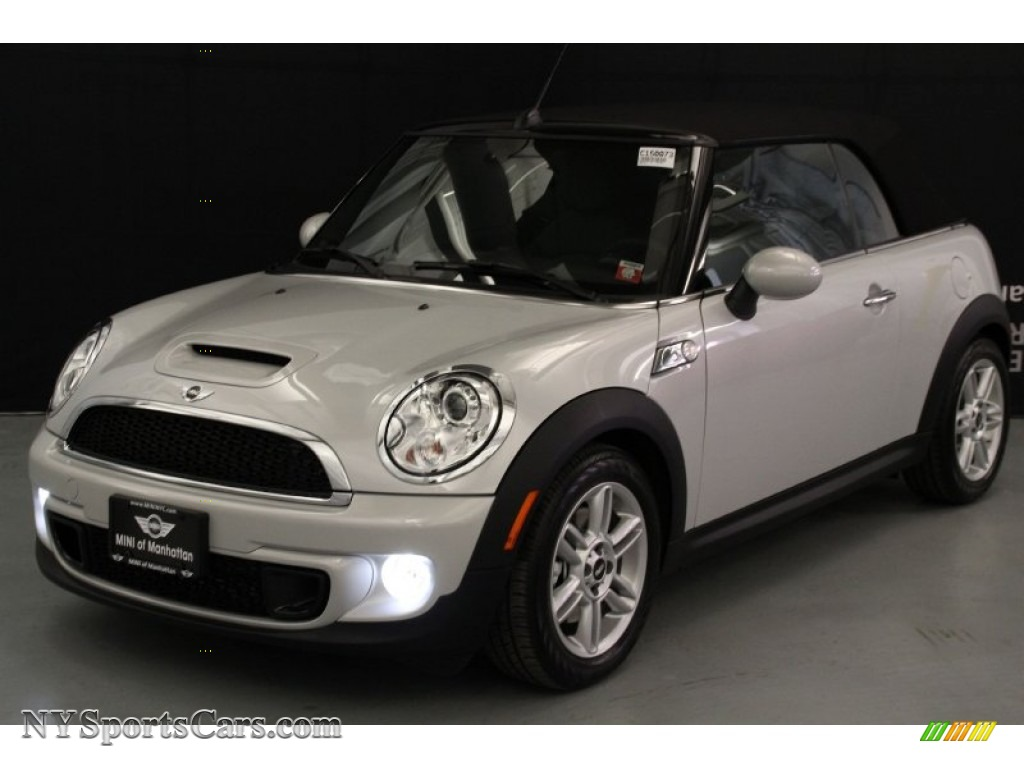 2015 mini convertible cooper s in white silver metallic 708002 cars for. Black Bedroom Furniture Sets. Home Design Ideas
