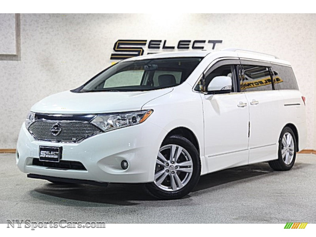2012 nissan quest 3 5 sl in pearl white 033104 cars for sale in new york. Black Bedroom Furniture Sets. Home Design Ideas