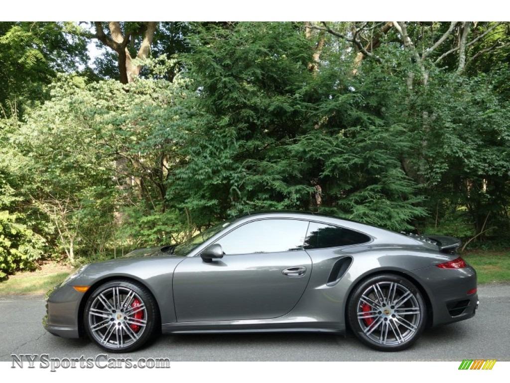 2015 Porsche 911 Turbo Coupe In Agate Grey Metallic Photo 3 166244 Nysportscars Com Cars
