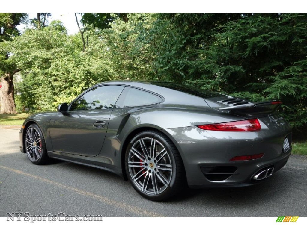 2015 Porsche 911 Turbo Coupe In Agate Grey Metallic Photo 4 166244 Nysportscars Com Cars