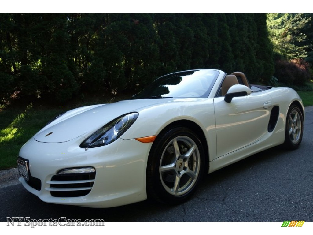 2013 porsche boxster in white 112569 cars for sale in new york. Black Bedroom Furniture Sets. Home Design Ideas
