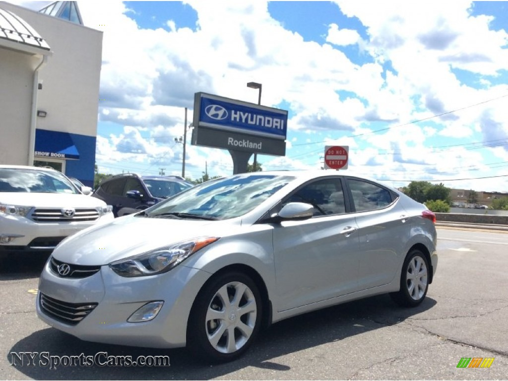 2013 Elantra Limited - Silver / Gray photo #1