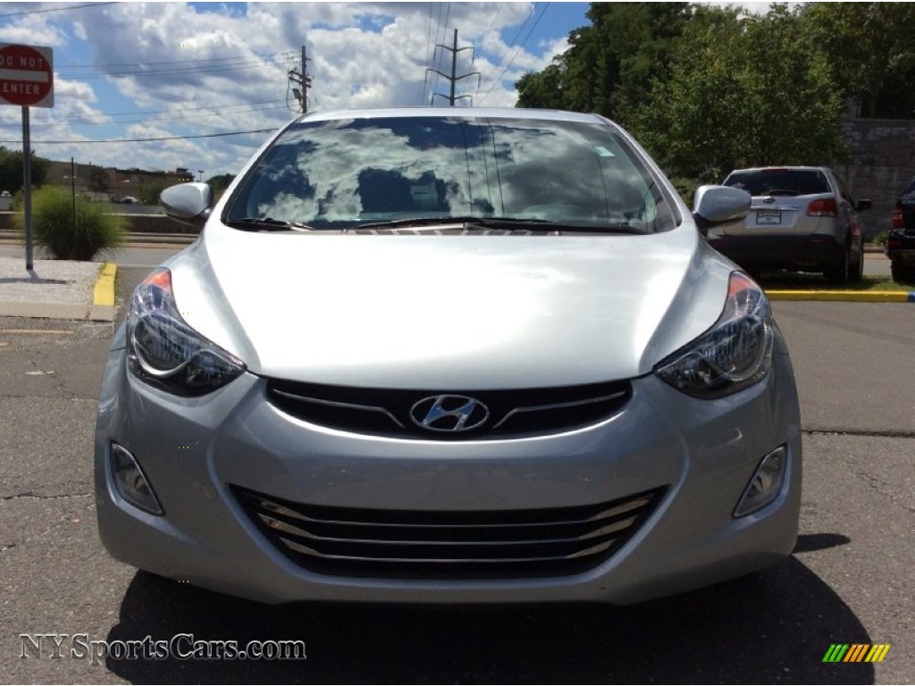 2013 Elantra Limited - Silver / Gray photo #2