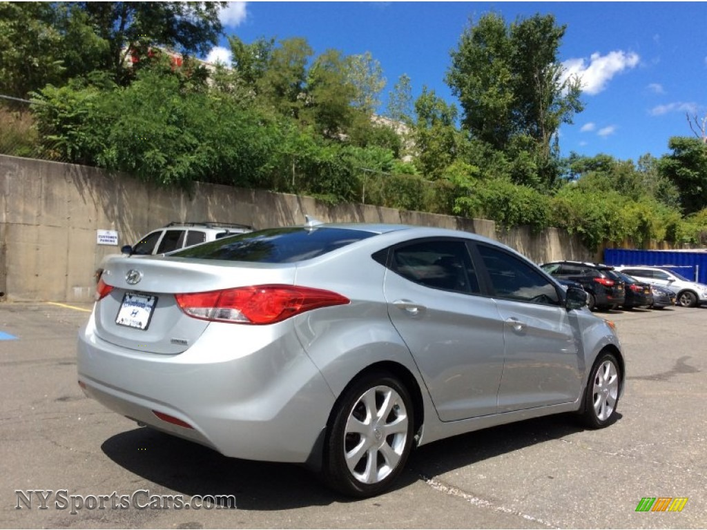 2013 Elantra Limited - Silver / Gray photo #4