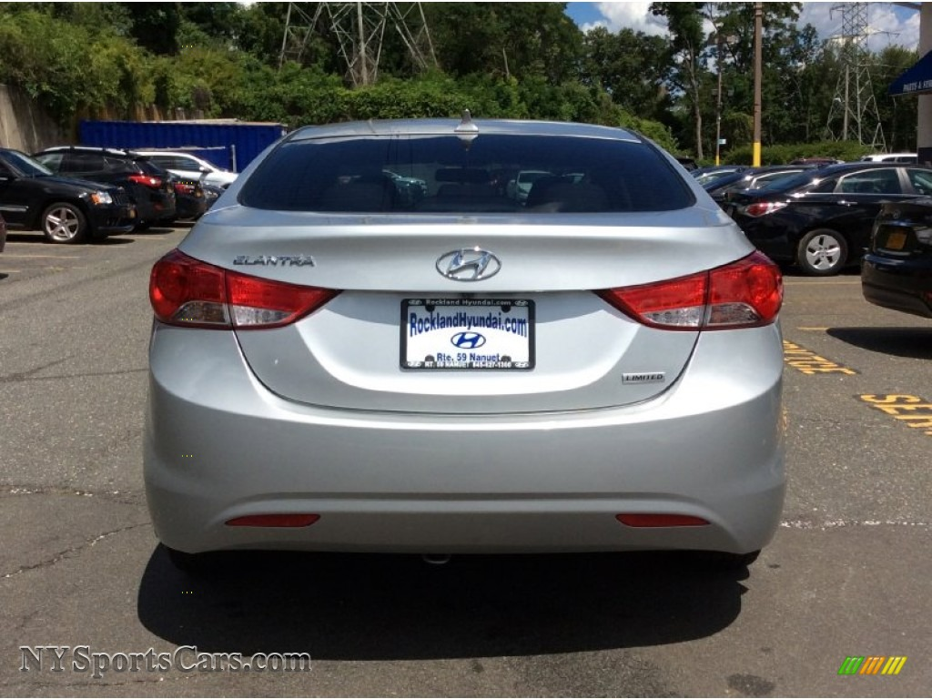 2013 Elantra Limited - Silver / Gray photo #5