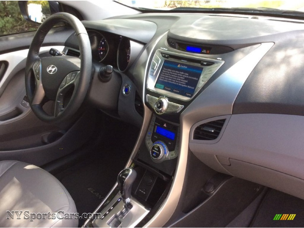 2013 Elantra Limited - Silver / Gray photo #26