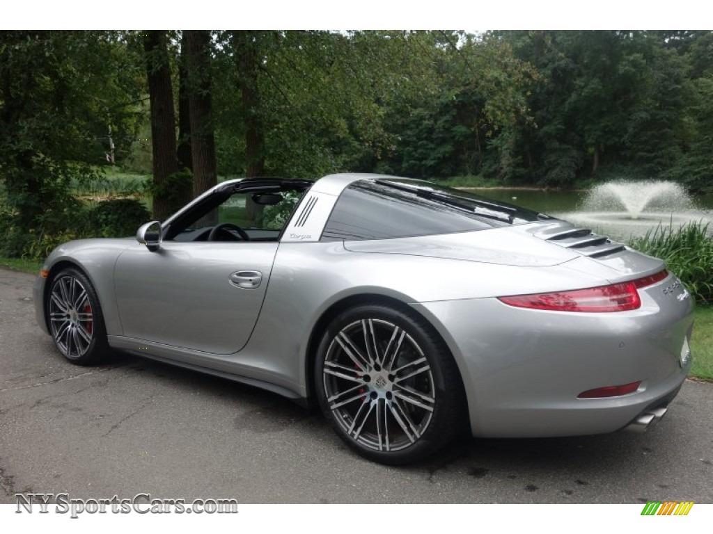 2015 Porsche 911 Targa 4s In Gt Silver Metallic Photo 4