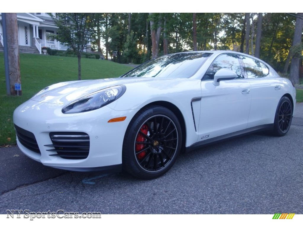 2015 Porsche Panamera Gts In White 081394 Nysportscars Com Cars For Sale In New York