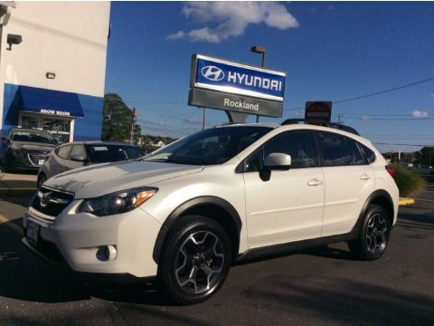 Satin White Pearl 2013 Subaru XV Crosstrek 2.0 Limited