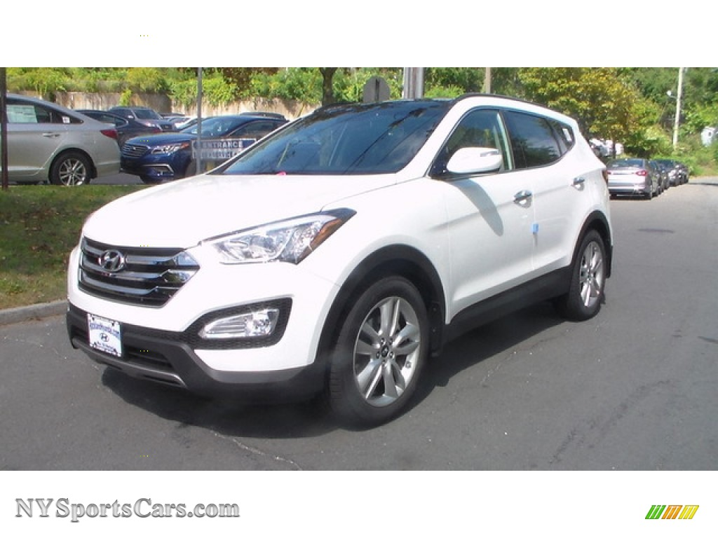 2016 hyundai santa fe sport 2 0t awd in frost white pearl 340572 cars for. Black Bedroom Furniture Sets. Home Design Ideas