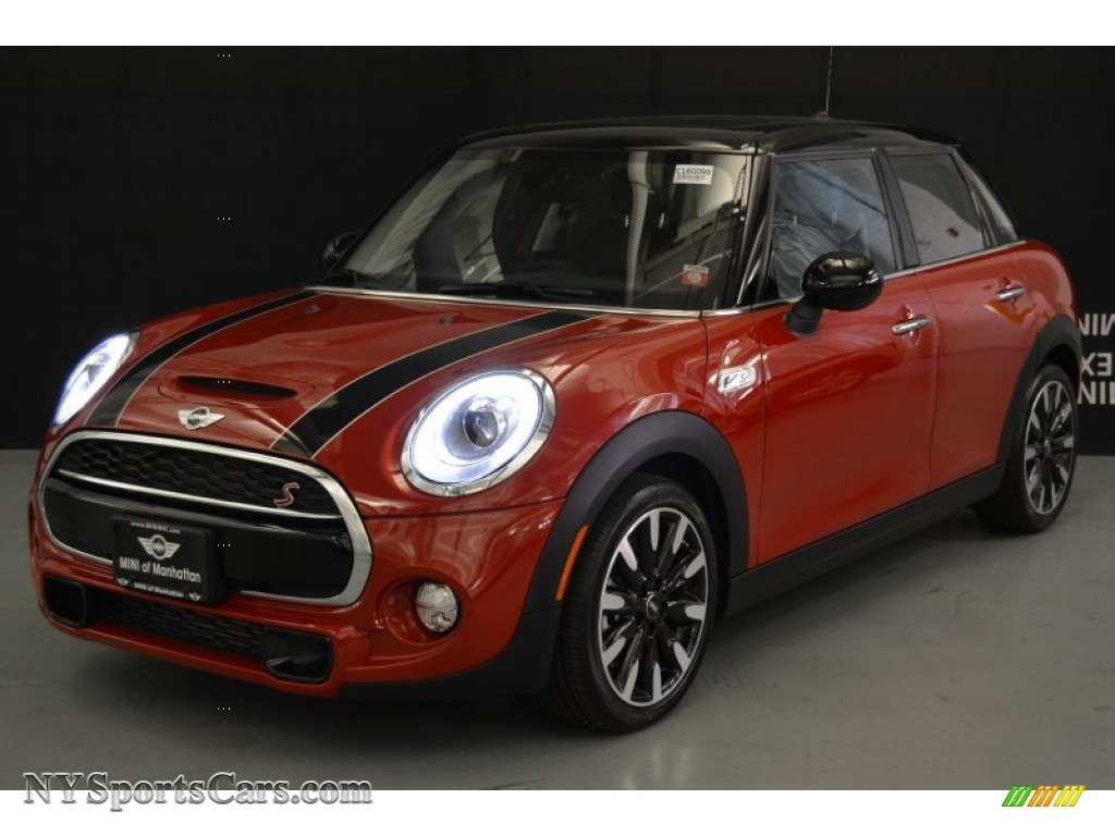 2016 mini hardtop cooper s 4 door in blazing red metallic. Black Bedroom Furniture Sets. Home Design Ideas