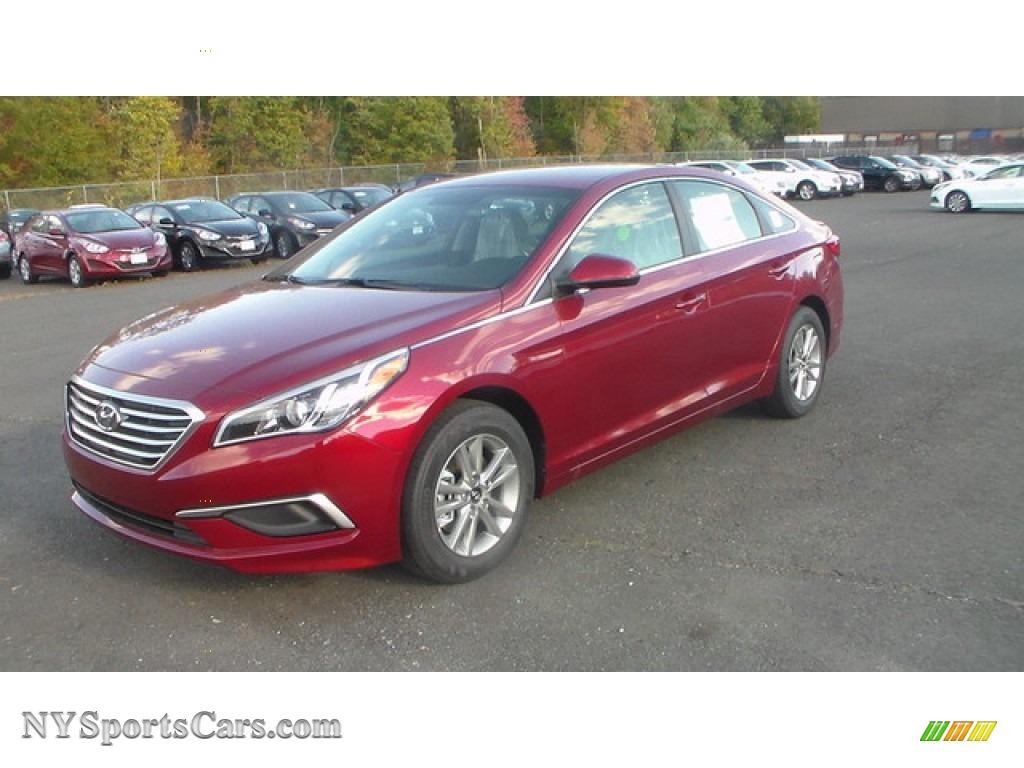 2016 Hyundai Sonata Se In Venetian Red 286919