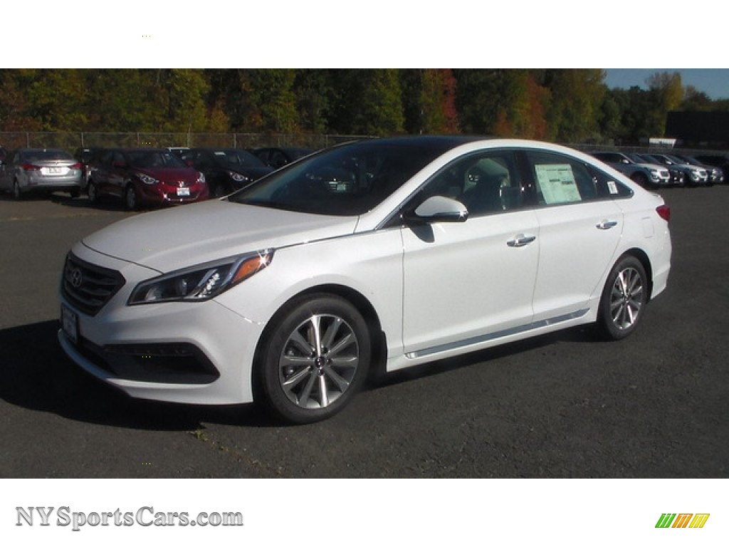 2016 Hyundai Sonata Limited In Quartz White Pearl 288352 Nysportscars Com Cars For Sale In