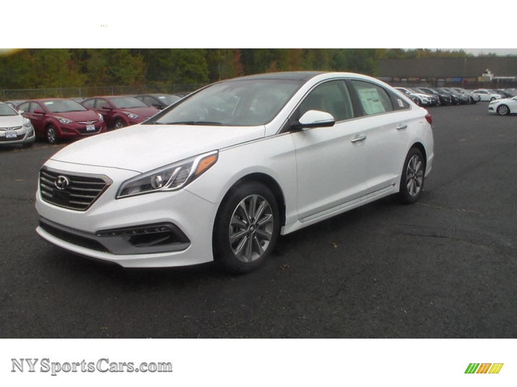 2016 hyundai sonata limited in quartz white pearl 274724 cars for sale in. Black Bedroom Furniture Sets. Home Design Ideas