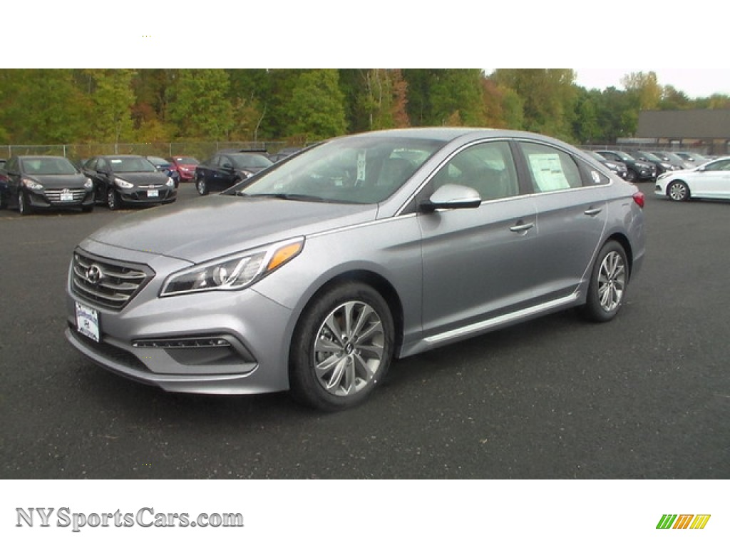 2016 Hyundai Sonata Limited In Shale Gray Metallic Photo