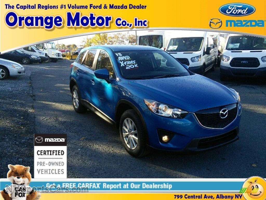 2013 Mazda Cx 5 Touring Awd In Sky Blue Mica 126757