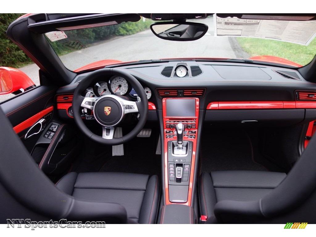 2016 Porsche 911 Turbo S Cabriolet In Lava Orange Photo 25 178191 Nysportscars Com Cars For Sale In New York