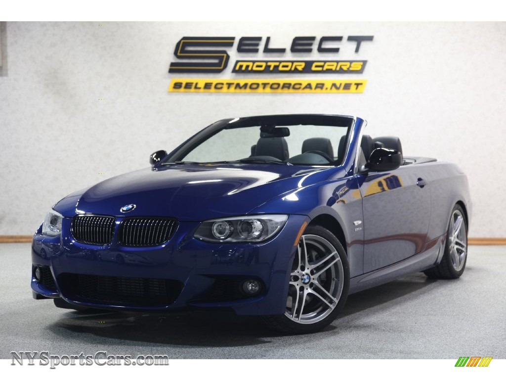 BMW Series Is Convertible In Le Mans Blue Metallic - 2013 bmw 335is convertible