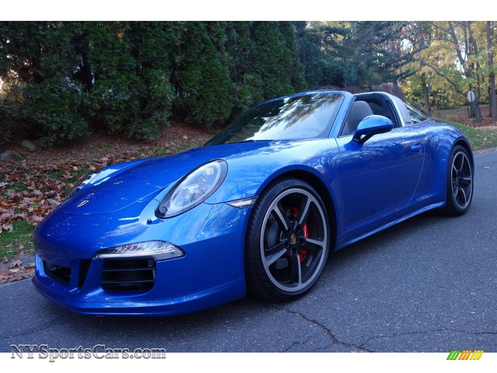 2016 Porsche 911 Targa 4s In Sapphire Blue Metallic Photo