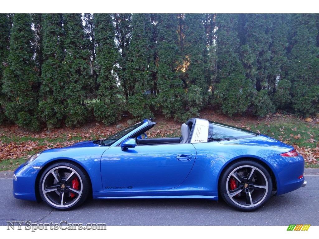 2016 Porsche 911 Targa 4s In Sapphire Blue Metallic Photo