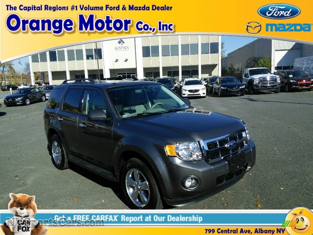 2012 Ford Escape Xlt 4wd In Sterling Gray Metallic Photo