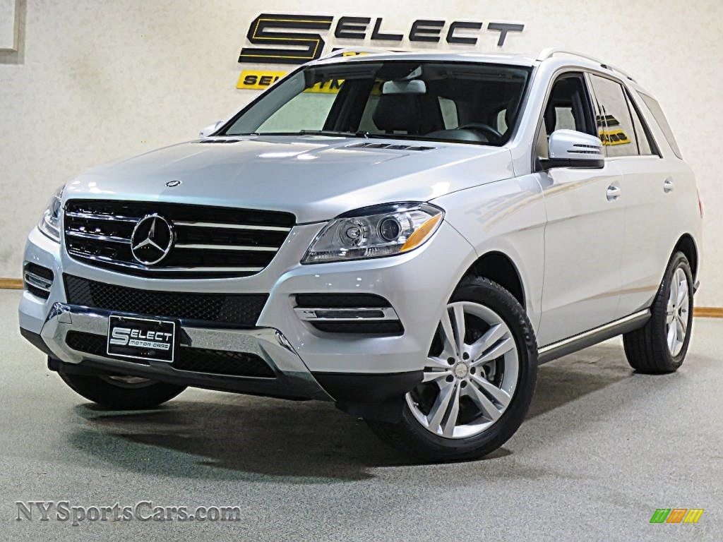 2013 mercedes benz ml 350 4matic in iridium silver for Mercedes benz 350 ml 2013