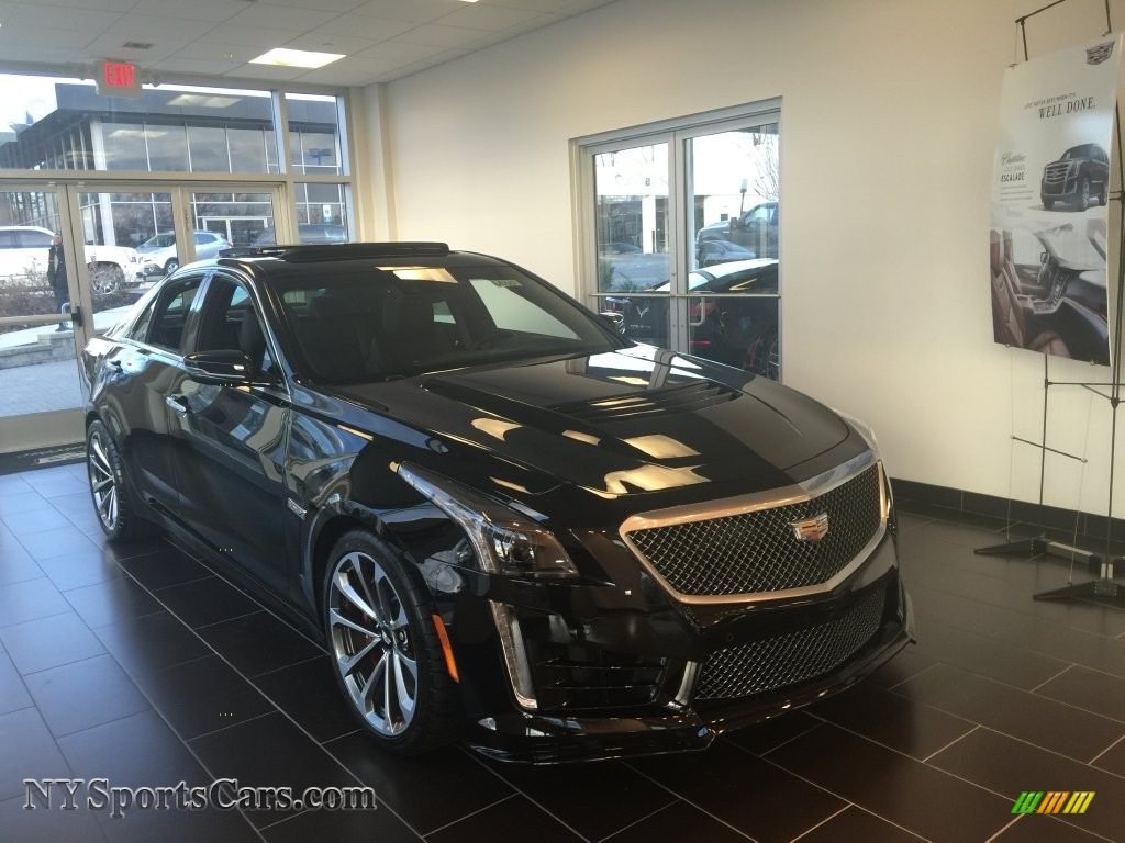 2016 cadillac cts v sport sedan in black raven 121990 cars for sale in. Black Bedroom Furniture Sets. Home Design Ideas