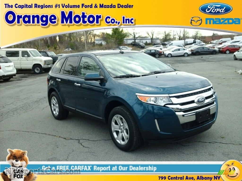 2011 ford edge sel in mediterranean blue metallic photo 2 for Orange motors albany new york