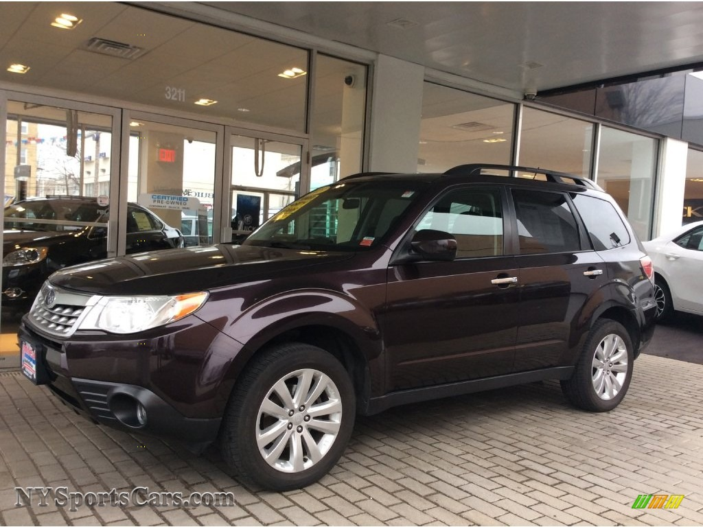 2013 Subaru Forester 2 5 X Limited In Deep Cherry Pearl