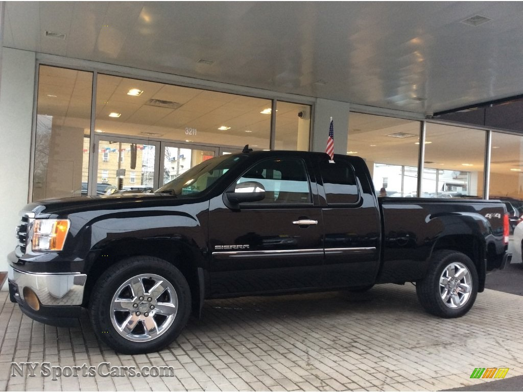 2013 gmc sierra 1500 sle extended cab 4x4 in onyx black 270480 cars for. Black Bedroom Furniture Sets. Home Design Ideas