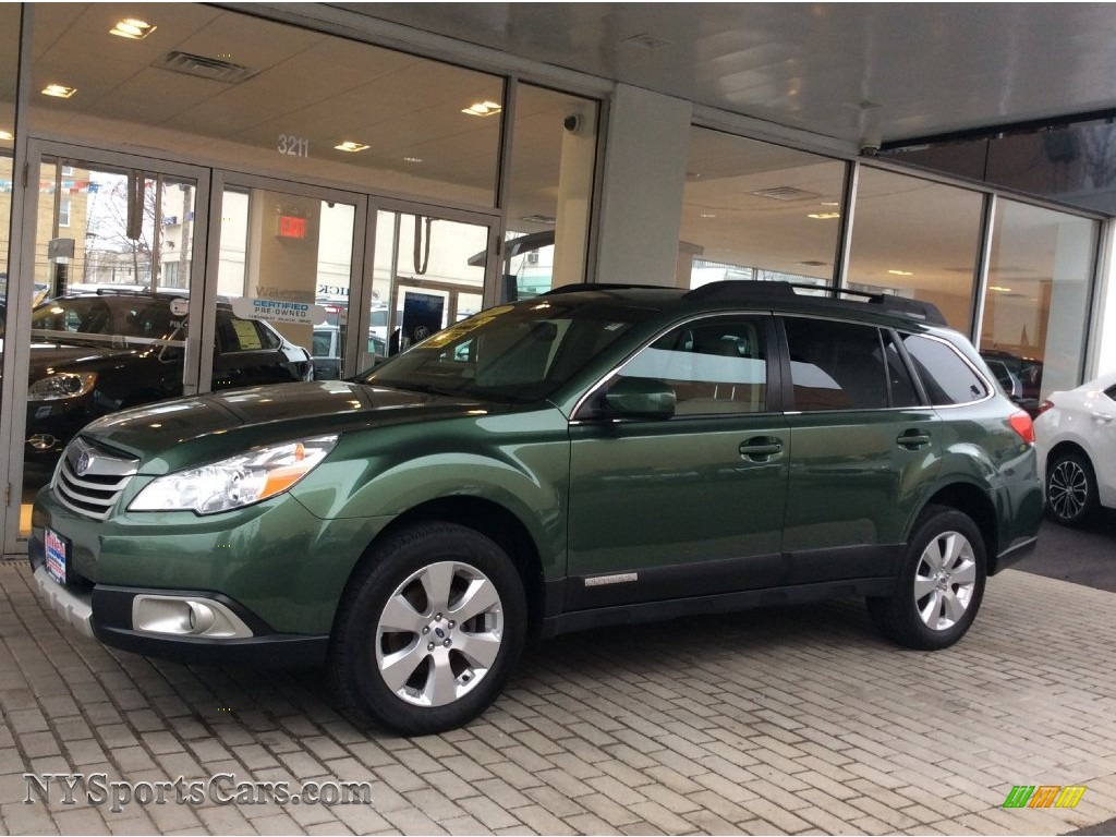 2012 Subaru Outback 2 5i Limited In Cypress Green Pearl