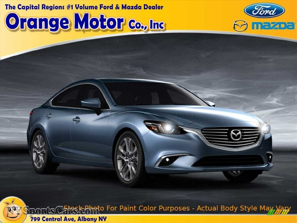2016 Mazda6 Sport Blue Reflex Mica Black Photo 1