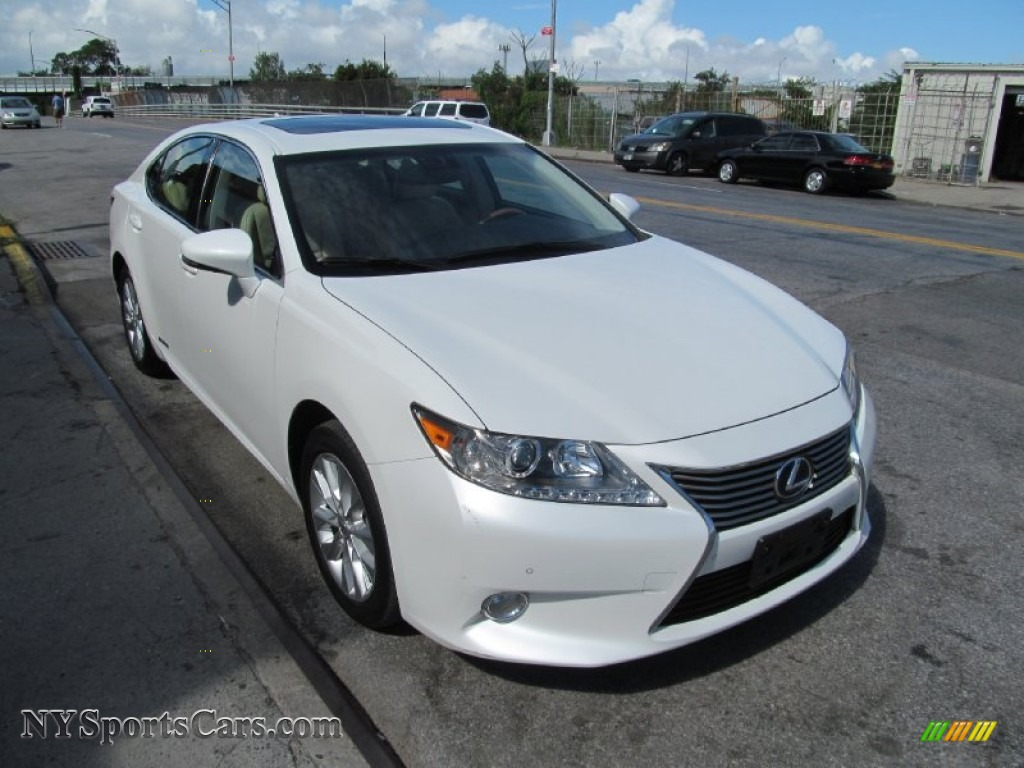 2013 lexus es 300h hybrid in starfire white pearl 014417 cars for sale in. Black Bedroom Furniture Sets. Home Design Ideas